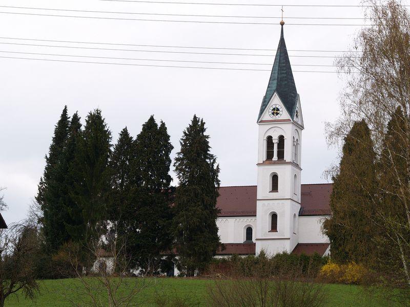 Stadtpfarrkirche Passau Schalding links der Donau
