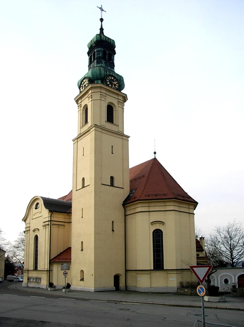 Stadtpfarrkirche Passau St. Anton