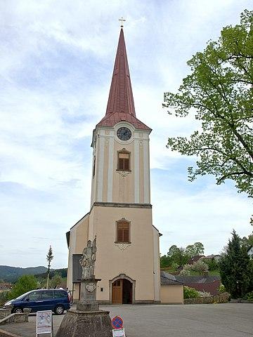 Pfarrkirche Großpertholz