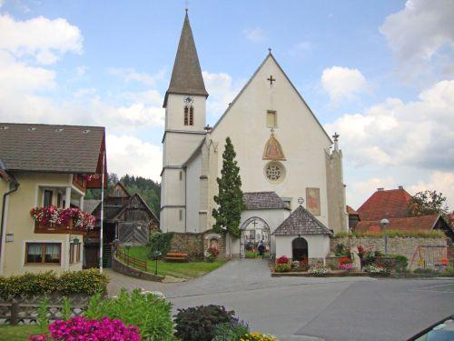 Pfarrkirche Hirschegg (Steiermark)