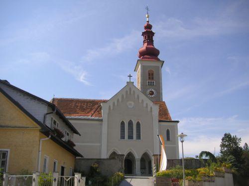 Pfarrkirche St. Oswald bei Plankenwarth