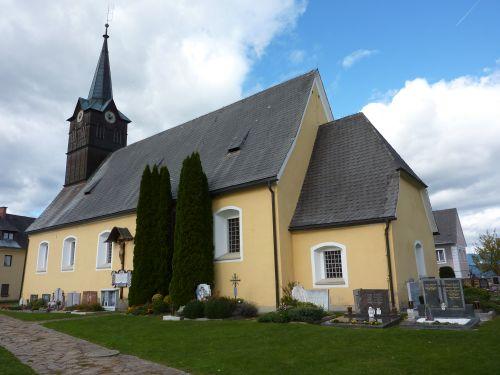 Pfarrkirche Sankt Martin am Wöllmißberg