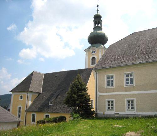 Pfarrkirche Sankt Jakob im Walde