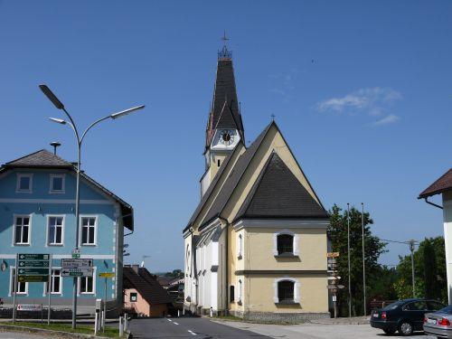 Pfarrkirche Aurach am Hongar