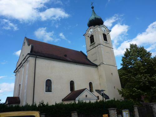 Pfarrkirche Niedergrünbach