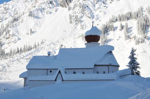 Pfarrkirche Stuben am Arlberg