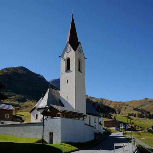 Pfarrkirche Warth am Arlberg