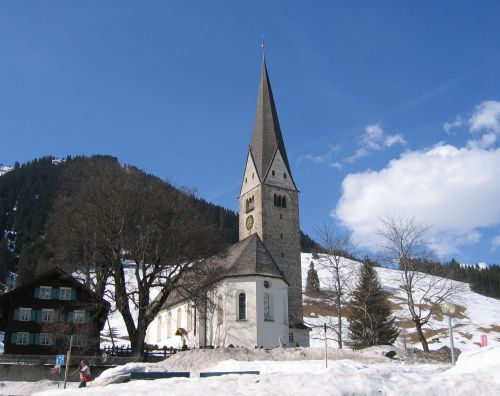 Pfarrkirche Mittelberg